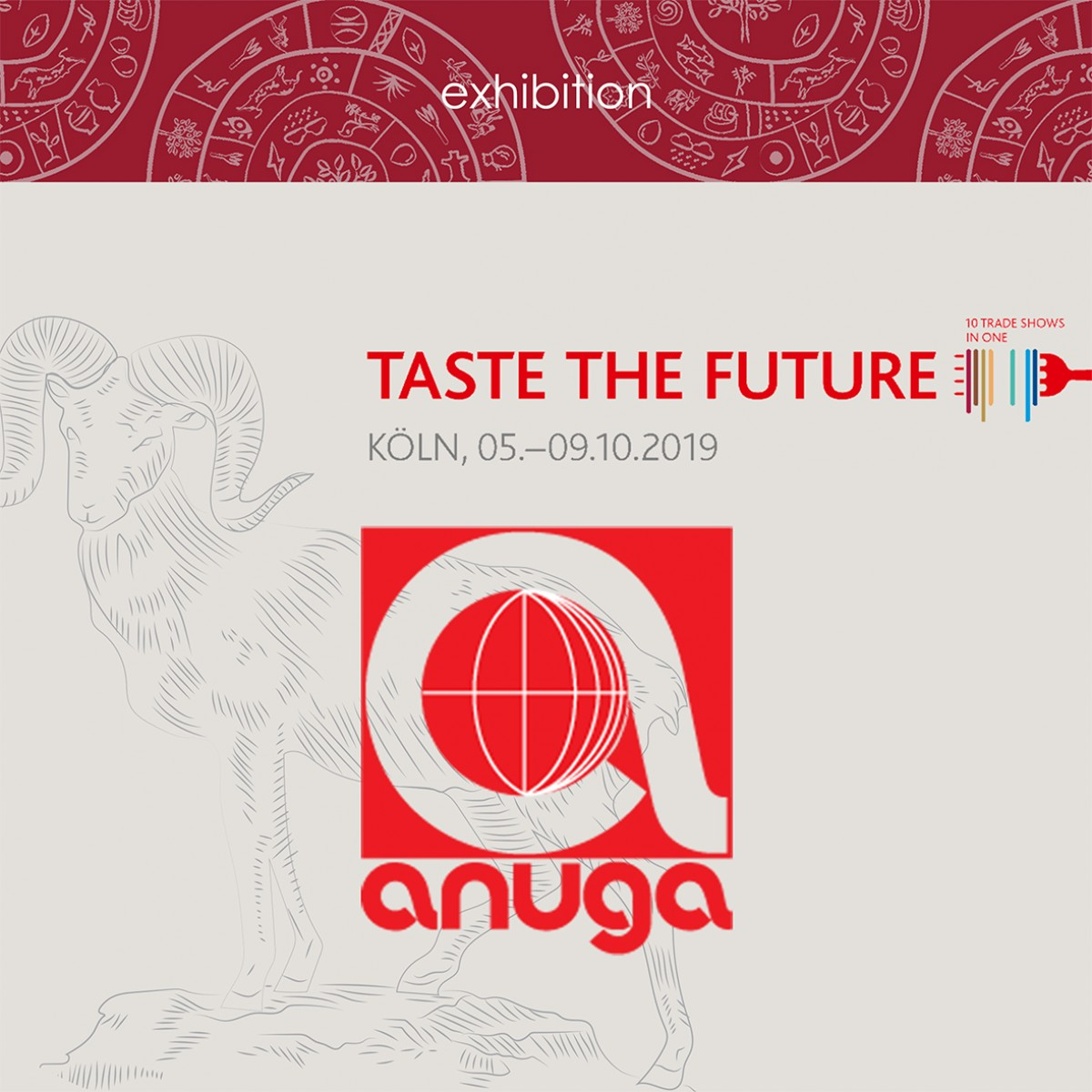 Our participation in the ANUGA 2019 International Exhibition