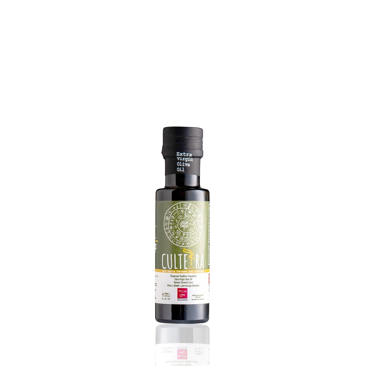 CULTERRA EVOO 100ml Glass Bottle